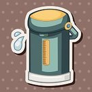 Heat - Temperature,Appliance,Kitchen Utensil,Drink,Steam,Teapot,Insulated Drink Container,Domestic Life,Illustration,Handle,Boiling,No People,Vector,Morning,Electricity,Preparation,2015,60361