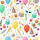 Birthday Cake,Birthday Present,Celebration,Collection,Illustration,Icon Set,Computer Icon,Birthday,Symbol,2015,Firework - Explosive Material,Pattern,Balloon,Seamless Pattern,Eyeglasses,Gift,Hat,Backgrounds,Event,Confetti,Cake,Fun,Vector,Party - Social Event