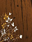 Wood - Material,Leaf,Single Flower,Butterfly - Insect,Autumn,Rustic,Backgrounds,Tree,Woodcut,Flower,Old,Silhouette,Floral Pattern,Textured,Pattern,Wood Grain,East Asian Culture,Maple,Textured Effect,Branch,Vector,Computer Graphic,Oak,Blossom,Design,Abstract,Plant,Decoration,Brown,Growth,Modern,Springtime,Design Element,Angle,Beauty In Nature,Ornate,Copy Space,Botany,Ilustration,Nature,Weathered,Scroll Shape,Beautiful,Digitally Generated Image,oriental style,Illustrations And Vector Art,Intricacy,Vector Ornaments,Vector Backgrounds,Vector Florals,Painted Image,Complexity