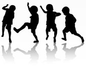 Child,Children Only,Dancing,Boys,Silhouette,Posture,Toddler,Togetherness,Limb,Illustration,People,Human Body Part,2015,Joy,Outline,Satisfaction,One Boy Only,Happiness,Group Of People,Childhood,Dancer,One Person,Small,Human Limb,Playful,Hand Raised,Black Color,Fun,Vector,Walking,Human Arm,Design,Jumping,Males