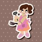 People,Love,Parent,Mother,Family,Adult,Cute,Illustration,Women,Vector,2015,Love Mom,Woman Icon,Family Icon
