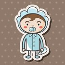 Boys,Childhood,Clothing,Bib,Child,Invitation,Baby Boys,Vector,Cute,Illustration,family member