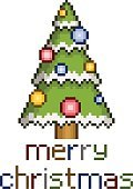 Humor,Symbol,Christmas,Cultures,Tree,Winter,Snow,Greeting,Decoration,Backgrounds,Christmas Tree,Abstract,Illustration,Pixelated,No People,Vector,Holiday - Event,2015,pixel art