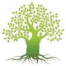 Nature,Plant,Green Color,White Color,Pattern,Tree,Root,Tree Trunk,Branch,Leaf,Season,Silhouette,Cut Out,Abstract,Illustration,No People,Vector,Ideas,Single Object,2015,81352,60500