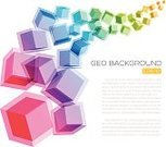 Simplicity,Design,Blue,Multi Colored,Transparent,Cube Shape,Pattern,Modern,Turquoise Colored,Backgrounds,Abstract,Illustration,Copy Space,Vector,Geometric Shape,Vibrant Color,Magenta,2015,Color Gradient,Low-Poly-Modelling,Abstract Backgrounds
