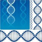 DNA,Genetic Research,Molecular Structure,Chromosome,Genetic Modification,Vector,Ilustration,DNA Helix,Illustrations And Vector Art,Blue,Design Element
