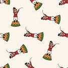 Event,Circus,Magician,Pattern,Backgrounds,Fun,Illustration,Celebration,Animal Tamer,Vector,2015,Seamless Pattern