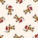 Pattern,People,Symbol,Hat,Pattern,Parrot,Sea,Backgrounds,Child,Cute,Sailor,Sword,Illustration,Mascot,Boys,Vector,Pirate - Criminal,2015,Seamless,Dagger,79191