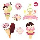 Ice,Food,Spoon,Candy,Cookie,Ice Cream,Restaurant,Pink Color,Ice,Refreshment,Blueberry,Dessert,Flavored Ice,Syrup,Ice Cream Cone,Illustration,Ice Cream Sundae,Gourmet,No People,Vector,Caramel,Icing,2015,Scoop Shape,Frozen Food