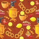Old,Kitchen,Food,Boot,Rural Scene,Domestic Room,Russia,Bread,Candy,Cake,Domestic Kitchen,Tea - Hot Drink,Party - Social Event,Yellow,Pattern,Old,Old-fashioned,Textile,National Landmark,Cultures,Lemon,Russian Culture,Backgrounds,Drying,Wrapping Paper,Teapot,Folk Music,Poster,Fairy,Loaf of Bread,Illustration,Leisure Activity,Vector,Samovar,Retro Styled,Print,Relaxation,Russian Ethnicity,60161,2015,Seamless Pattern,111645