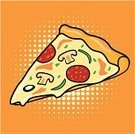Pizza,Slice,Vector,Halftone Pattern,Italian Culture,Backgrounds,Fast Food,Food,Cheese,Clip Art,Salami,Take Out Food,Ilustration,Olive,Mushroom,Jalapeno Pepper,Onion,Sauces,Freshness,Dough,Italian Cuisine,Pastry Crust,Dinner,Black Olive,fresh from the oven,Medicine And Science,Unhealthy Eating,Snack,Bell Pepper,Food And Drink,Illustrations And Vector Art,Lunch,Junk Food/Fast Food,Refreshment,Edible Mushroom,Mozzarella,Pepper - Vegetable,Pepperoni,Gourmet