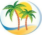 Palm Tree,Beach,Tropical Climate,Sun,Summer,Holiday,Wave,Backgrounds,Computer Icon,Fun,Vacations,Sea,Travel Destinations,Water,Wave Pattern,Weather,tropical scene,Summer,Nature,Illustration And Paintingcomputer Icon,Nature,Wave Patern,Illustrations And Vector Art