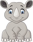 Character,Humor,Happiness,Symbol,Animal Wildlife,Cheerful,Animal,Sitting,Smiling,Animals In The Wild,Mammal,Gray,Rhinoceros,Fun,Animal Mouth,Cute,Illustration,Cartoon,Mascot,Young Animal,Vector,Characters,Safari Animals,2015