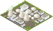 Isometric,Power Station,Nuclear Power Station,Factory,Power,Nuclear Energy,Building Exterior,Industry,Energy,Nuclear Reactor,Parking Lot,Fuel and Power Generation,Electricity,Generator,Smoke Stack,Tree,Cooling Tower,Environment,Smoke - Physical Structure,Aluminum,Chernobyl,Chimney,Global Warming,Pollution,Engineering,Condensation,Radiation,Steam,Radioactive Warning Symbol,Toxic Substance,Technology,Environmental Damage,Prefabricated Building,Grass,Smog,Air Pollution,Medicine And Science,Man Made Structure,Heavy Industry,Architecture And Buildings,Industry