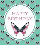 Creativity,Nature,Birthday,Insect,Colors,Pink Color,Butterfly - Insect,Flower,Cards,Beauty,Greeting Card,Illustration,Inviting,Vector,Banner - Sign,Beautiful People,Invitation,2015,Banner