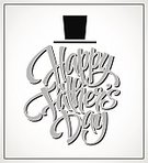 Hat,Text,Father,Greeting,Illustration,Celebration,Vector,2015,happy fathers day