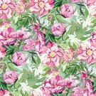 Elegance,Romance,Nature,Botany,Close-up,Plant,Green Color,Pink Color,White Color,Pattern,Old-fashioned,Flower,Leaf,Season,Flower Head,Springtime,Summer,Decoration,Beauty,Peony,Cut Out,Cute,Adulation,Abstract,Watercolor Painting,Illustration,Organic,Beauty In Nature,Painted Image,Vector,Retro Styled,White Background,Beautiful People,Single Object,2015,81352,Seamless Pattern,111645