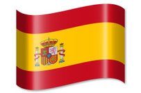 White,Design,Horizontal,Isolated,Wave,Waving,Abstract,Clip Art,Country - Geographic Area,Flag,Shadow,Symbol,Politics,Illustration,Spain