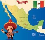 The Americas,North America,Mexican Ethnicity,Map,Mexico,International Landmark,Cultures,Gulf of Mexico,Decoration,Mexico City,Acapulco,Cancun,Chihuahua - Mexico,Oaxaca,Puerto Vallarta,La Paz - Bolivia,Business Travel,Mexican Culture,Sombrero,City of Monterey - California,Kukulkan Pyramid,Tijuana,Illustration,Celebration,Cartoon,Vector,Tourism,Tampico,Travel,Mazatlan,San Ignacio,Los Cabos,2015,103626,Travel locations,Monterey Peninsula