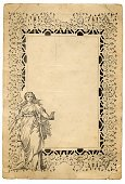 Ornate,Paper,Frame,Etching,Classical Greek,Retro Revival,Victorian Style,Old,Backgrounds,Old-fashioned,Poster,Ancient,Antique,Document,Sketch,Design Element,Dirty,Classical Style,Isolated,Distressed,Ilustration,Textured Effect,Greco-roman Style,Neo-Classical,Paintbrush,Artist,Painter,Cultures,Young Women,Art and Craft Equipment,Run-Down,Drawing - Art Product,Textured,Torn,Drawing - Activity,The Past,Art Product,Damaged,Blank,Bad Condition,Copy Space,Condition,Crease,Visual Art,Brown Paper,Isolated On White,Historical Document,Crumpled,Faded,Arts And Entertainment,Arts Backgrounds,Style,Art and Craft Product,Elegance,High Key,Creative Occupation