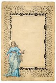 Poster,Victorian Style,Frame,Retro Revival,Classical Greek,Style,Painter,Old-fashioned,Neo-Classical,Old,Etching,Hairstyle,Antique,Artist,Ilustration,Fashion,Greco-roman Style,Ornate,Blank,Paper,Backgrounds,Scrapbook,Textured,Design Element,Document,Ancient,Drawing - Activity,Sketch,The Past,Young Women,Copy Space,Crumpled,Historical Document,Condition,Textured Effect,Distressed,Bad Condition,Drawing - Art Product,Art and Craft Equipment,Art and Craft Product,Elegance,Arts Backgrounds,Isolated On White,Creative Occupation,Isolated,Faded,High Key,Classical Style,Run-Down,Brown Paper,Arts And Entertainment,Cultures,Damaged,Visual Art,Art Product,Torn,Crease