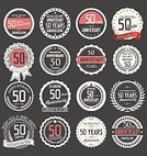 Old,Simplicity,Happiness,Symbol,Sign,50-54 Years,Ceremony,Married,Birthday,Wedding,Graduation,Old,Old-fashioned,Decoration,Placard,Greeting Card,Badge,Wedding Ceremony,Award Ribbon,Anniversary,Congratulating,Illustration,Celebration,Vector,Insignia,Retro Styled,Jubilee,Banner - Sign,Number 50,50s,2015,Classic,Banner