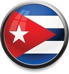 Cuba,Cuban Flag,Push Button,Flag,Interface Icons,Circle,Computer Icon,Star Shape,Frame,Black Border,Reflection,Symbol,Concepts And Ideas,Technology,Communication,Computer Graphic,Religious Icon,Single Object,Vector,Shiny,Illustrations And Vector Art,Vector Icons,Illuminated,Isolated,Window,White,Red,Blue,Sphere