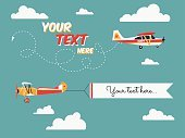 Ribbon,Mode of Transport,Symbol,Sign,Performance,Business,Transportation,Air Vehicle,Text,Advertisement,Design,Airplane,Flying,Pulling,Looking,Showing,Modern,Old-fashioned,Wind,Sky,Cloud - Sky,Small,Business Travel,Backgrounds,Commercial Sign,Placard,Computer Icon,Propeller,Message,Aircraft Wing,Exhibition,Illustration,Flat,Marketing,Template,Cloudscape,Vector,Showing Off,Travel,Retro Styled,Banner - Sign,2015,103626,109316,Banner,Sample Product