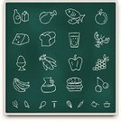 Food,Chalk Drawing,Blackboard,Symbol,Religious Icon,Computer Icon,Vegetable,Fish,Icon Set,Meat,Education,Single Line,Art,Cheese,Drawing - Activity,Milk,Sign,Ilustration,Apple - Fruit,Bread,Vector,Drink,Grape,In A Row,Banana,Learning,Eggs,Tomato,Lobster,Global Communications,Drinking Water,Lobster,Sign Language,Writing,Human Skin,Communication,University,Green Color,White,Message,Illustrations And Vector Art,Concepts And Ideas,Communication,Nostalgia,Vector Icons,Announcement Message,Food And Drink