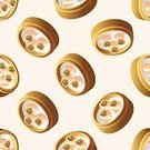 Food,Asia,Lunch,Cooking,Restaurant,Pattern,Backgrounds,Menu,Illustration,Gourmet,Meal,Vector,2015,Seamless Pattern