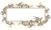 Banner,Scroll Shape,Flower,Victorian Style,Floral Pattern,Placard,Gothic Style,Arabic Style,Single Flower,Art Nouveau,Retro Revival,Antique,Ornate,Acanthus Plant,Cartouche,Swirl,Growth,filigree,Old-fashioned,Vector,Foliate Pattern,Brown,Engraving,swirly,Engraved Image,Art Deco,Beautiful,Decoration,Copy Space,Squiggle,Symmetry,Corner Design,Sepia Toned,Blank,Design Element,Intertwined,Leaf,Spiral,Empty,Curled Up,Intricacy,Vector Florals,Vector Ornaments,Illustrations And Vector Art