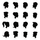 Feature,People,Love,Symbol,Jewelry,Hat,Coat Of Arms,Human Body Part,Human Face,Family,Top Hat,Child,Adult,Crown,Ponytail,Illustration,Royalty,Men,Boys,Women,Vector,2015,silhouette people,Profile Face,Silhouette Man,Profile Picture,Silhouettes Of People
