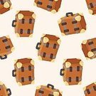 Symbol,Bag,Vacations,Suitcase,Briefcase,Pattern,Purse,Backgrounds,Backpack,Illustration,Handle,No People,Vector,Luggage,Single Object,2015,81352,Seamless Pattern