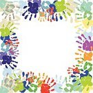 Individuality,Identity,Footprint,Human Body Part,Human Hand,Human Finger,Paintings,Label,Pulling,Family,Playful,Colors,Multi Colored,New,Childhood,Fun,Sign Language,Child,Palm,Fingerprint,Postage Stamp,Handwriting,Handprint,Coloring,Illustration,Painted Image,Vector,2015