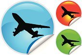 Airplane,Commercial Airplane,Label,Travel,Air Vehicle,Flying,Computer Icon,Silhouette,Green Color,Taking Off,Moving Up,Peeled,Vector,Modern,Arrival,Private Airplane,Transportation,Sticky,Back Lit,People Traveling,Circle,Wing,Shiny,Blue,Digitally Generated Image,Sky,Clip Art,Design Element,Business Symbols/Metaphors,Sunset,Business Travel,Mode of Transport,Sparse,Business Travel,Ilustration,Illustrations And Vector Art,White Background,Red,Vector Icons,Mid-Air,Business