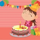 Birthday,Little Girls,Banner,Teenage Girls,Cake,Party - Social Event,Happiness,Vector,Balloon,Backgrounds,Cheerful,Placard,Gift,Celebration,Candle,Fruit,Celebration Event,Religious Icon,Decoration,Hat,Event,Life Events,Backdrop,Parties,Vector Backgrounds,Message,Birthdays,Joy,Ribbon,Illustrations And Vector Art,Holidays And Celebrations
