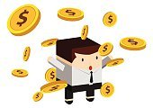 Success,Business,Currency,Illustration,No People,Vector,2015