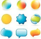 Shape,Interface Icons,Push Button,Computer Graphic,Digitally Generated Image,Funky,Shiny,Icon Set,Computer Icon,Symbol,Colors,Vector,Label,Multi Colored,Color Image,Ilustration,No People,Vibrant Color,White Background