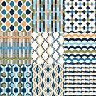 Pattern,Backgrounds,Repetition,Illustration,Group Of Objects,No People,Vector,Geometric Shape,2015,Seamless Pattern