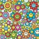 Smiley Face,Smiling,Human Face,Pattern,Flower,Sunflower,Cartoon,Cheerful,Daisy,Backgrounds,Happiness,Symbol,Religious Icon,Vector,Computer Icon,Abstract,Single Object,Cute,Floral Pattern,Design Element,Silhouette,Set,Sign,Design,Multi Colored,Collection,Fun,Flower Head,Ilustration,Plant,Colors,Springtime,Clip Art,Botany,Nature,Illustrations And Vector Art,Vector Backgrounds,Vector Cartoons,Vector Florals,Freshness