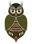 Feather,Symbol,Nature,Animal Wildlife,Animal,Animal Markings,Animal Body Part,Animal Eye,Bird,Multi Colored,Pattern,Owl,Small,Cute,Illustration,Cartoon,Vector,2015,61814