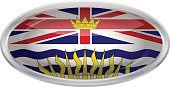 Shiny,Flag,The Americas,North America,Design,Label,Canada,Circle,Ellipse,Metal,Glass - Material,Reflection,British Columbia,Curve,Computer Icon,Push Button,Frame,Cut Out,Illustration,Vector,2015,Flag Of British Columbia,Icon Set,US State