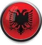 Albania,Flag,Vector,Albanian Flag,Sphere,Computer Icon,Shiny,Symbol,Circle,Religious Icon,Red,Computer Graphic,Single Object,Illuminated,Technology,Black Color,Black Border,Flag Of Albania,Communication,Vector Icons,Illustrations And Vector Art,Concepts And Ideas,Isolated,Reflection