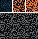 Halloween,Pattern,Seamless,Bat - Animal,Retro Revival,Textile,Black Color,Orange Color,Spooky,Art,Dark,Wallpaper Pattern,Mystery,Repetition,Continuity,Multi Colored,Modern,Design,Simplicity,Halloween,Animals And Pets,Holidays And Celebrations,Overcast,Creativity,Mammals,Copy Space,Wrapping Paper,Design Element,Vector Backgrounds,Holiday Backgrounds,Part Of