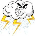 Flash,Forecast,Anger,Human Body Part,Human Face,Furious,Gray,Climate,Light - Natural Phenomenon,Storm,Cloud - Sky,Rain,Thunderstorm,Lightning,Flash,Weather,Cut Out,Overcast,Illustration,Forecasting,Cartoon,Mascot,Raindrop,Cloudscape,Vector,Characters,White Background,Meteorology,2015
