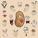 Raw Potato,Human Eye,Cartoon,Human Face,Facial Expression,Smiley Face,Vector,Sadness,Anger,Sulking,Human Mouth,Displeased,Depression - Sadness,Furious,Making a Face,Cheerful,Happiness,Fear,Emotion,Smiling,Sullen,Ilustration,Sticking Out Tongue,Vector Cartoons,Fruits And Vegetables,Feelings And Emotions,Illustrations And Vector Art,Food And Drink,Concepts And Ideas,Frowning