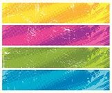 Banner,Halftone Pattern,Backgrounds,Dirty,Placard,Abstract,Grunge,Green Color,Purple,Spray,Paint,Multi Colored,Blue,Spotted,Yellow,Computer Graphic,Vector,Art,Blob,Design,Vector Backgrounds,Illustrations And Vector Art,Ilustration,Ornate