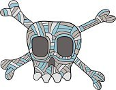 Pirate Flag,Doodle,Punk,Skull and Crossbones,Pattern,Cross Hatching,Funky,Cartoon,Drawing - Activity,Computer Graphic,Danger,Warning Symbol,Blue,Ilustration,Vector,Vector Icons,Warning Sign,Vector Cartoons,Illustrations And Vector Art,Concepts And Ideas,Clip Art,hand drawn,Drawing - Art Product