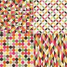Multi Colored,Pattern,Backgrounds,Repetition,Tile,Illustration,No People,Vector,Geometric Shape,2015,Seamless Pattern