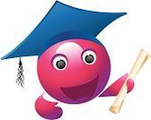 Graduation,Degree,Education,Symbol,Student,Mortar Board,Cartoon,Diploma,School Building,Internet,Hat,Graduated,University,Cap,Mascot,Computer Icon,Globe - Man Made Object,Certificate,Learning,Catalog,Tassel,Smiley Face,Human Hand,Voice,Vector,Human Mouth,Bonnet,Human Eye,Greeting,Happiness,Laughing,Purple,Tall,Document,presented,Arts Symbols,Vector Cartoons,Arts And Entertainment,Vector Icons,Joy,Human Arm,Sphere,Showing,Illustrations And Vector Art